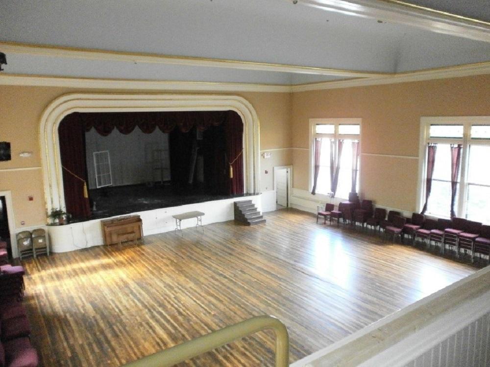 West Rutland Theater Interior